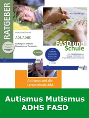 ADS, ADHS, Autismus, Mutismus, FASD