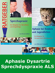 Aphasie, Apraxie, Dysarthrie, ALS