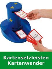 Kartensetzleisten, Kartenwender