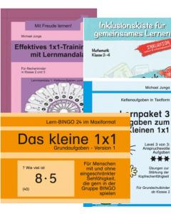Einmaleins 1x1 Übungspakete PDF