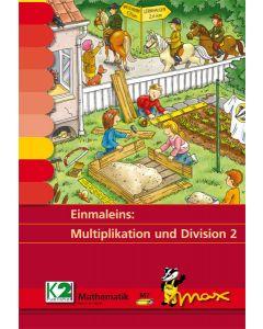 Max Lernkarten bis 1000 Multiplikation Division