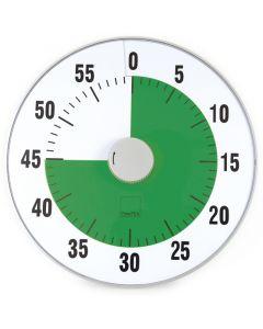 TimeTEX Zeitdauer-Uhr grün XL-Format 32 cm ø