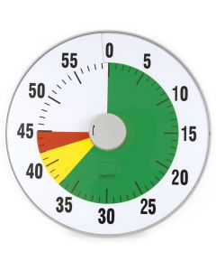 TimeTEX Zeitdauer Ampel-Uhr XL-Format 32 cm ø