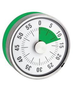 TimeTEX Zeitdauer Uhr grün Tischgrösse 78 mm ø