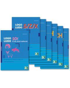 LOGO LUDO Paket mit 7 Lautbildungsmappen