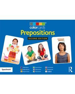 Colorcards Präpositionen