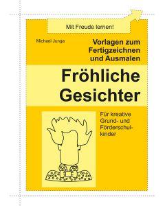 Zeichnen und Ausmalen Fröhliche Gesichter PDF