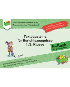 Textbausteine für Berichtszeugnisse  E-Book