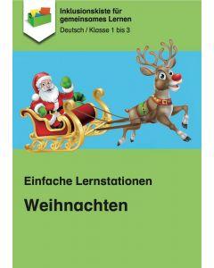 Einfache Lernstationen: Weihnachten PDF