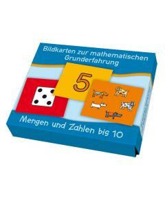 Bildkarten Mengen und Zahlen bis 10