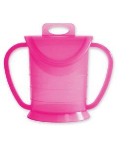 LOOPCUP Becher pink