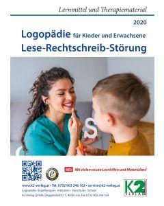 Katalog 2020 Logopädie Lese-Rechtschreibstörung