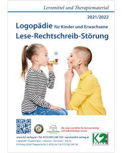 Katalog 2021/2022 Logopädie Lese-Rechtschreibstörung