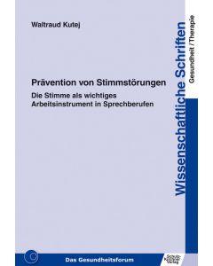 Prävention von Stimmstörungen eBook