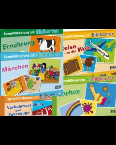 Sprachförderung mit Bildkarten Bildgeschichten