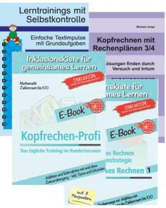 Addition Subtraktion bis 100 Übungspakete PDF